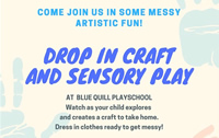 Drop in craft at Blue Quill Playschool